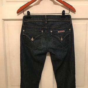 Hudson Jeans Jeans - Hudson Collin Flap Pocket Skinny Dark Wash Sz 26